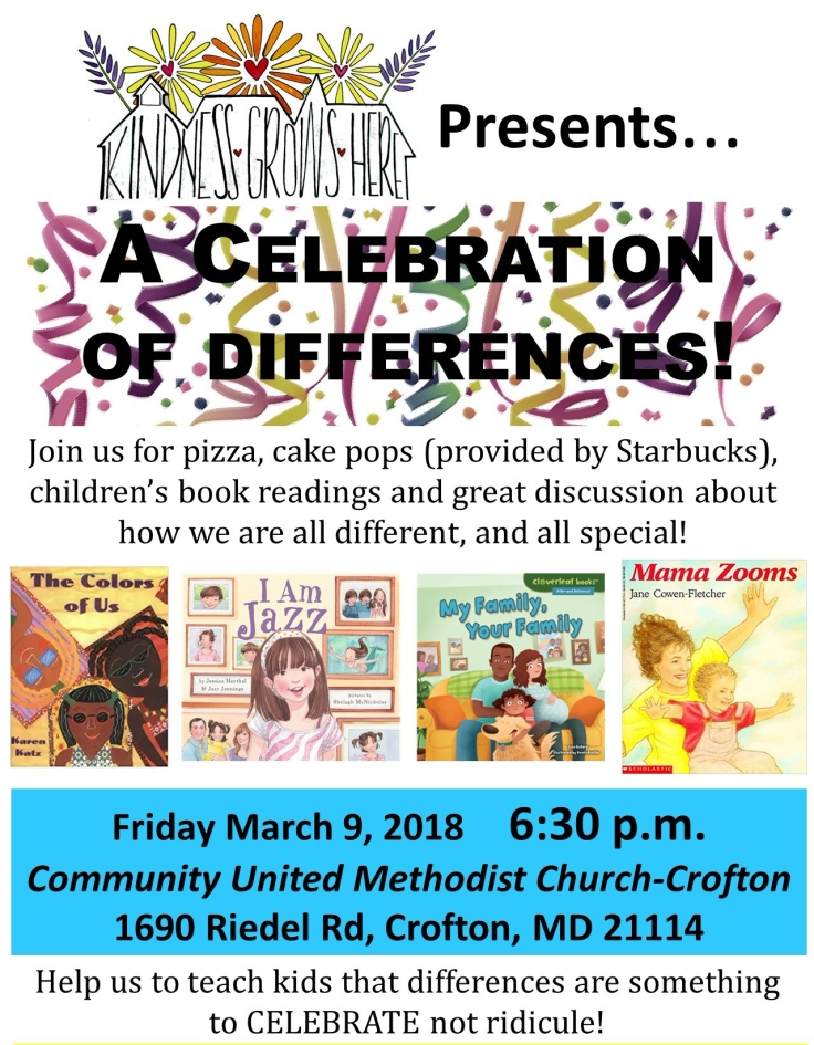 Celebration of Differences Flyer
